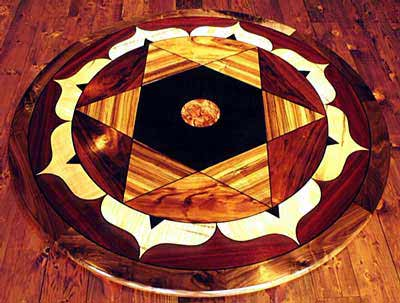 Photo of Star Tetrahedron Table